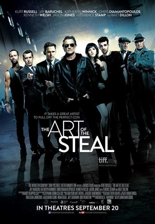 постер Черные метки,The Art of the Steal