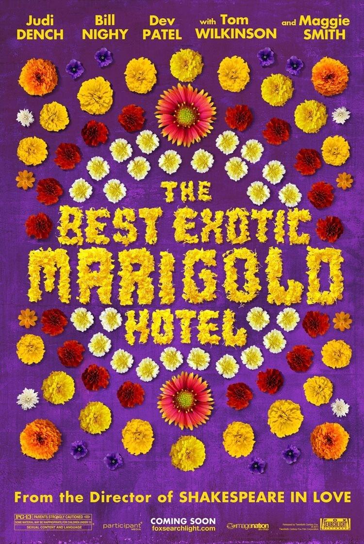 постер Лучший экзотический отель «Мэриголд»,The Best Exotic Marigold Hotel