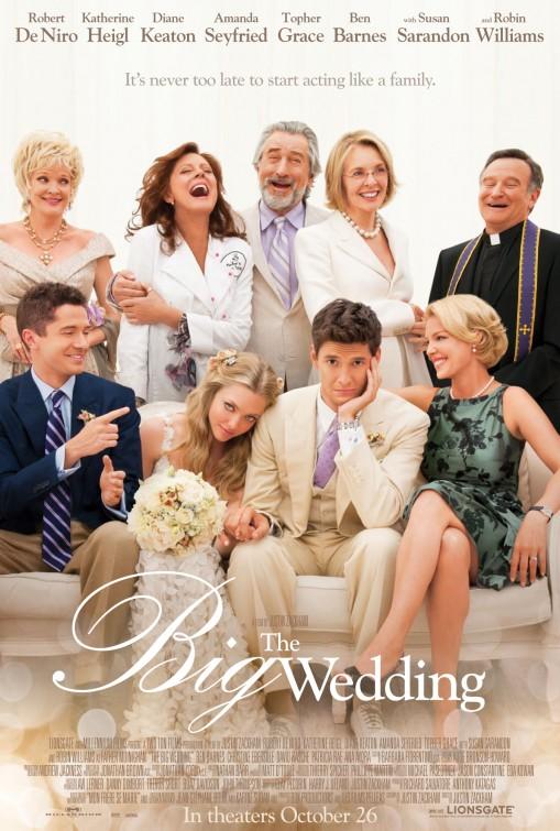 постер Свадьба,The Big Wedding