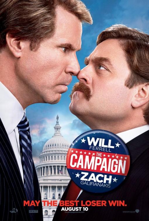 постер Честные выборы,The Campaign