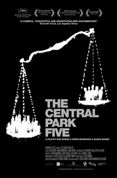 постер Пятеро из Центрального парка,The Central Park Five