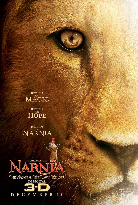 постер Хроники Нарнии: Покоритель Зари, The Chronicles of Narnia: The Voyage of the Dawn Treader