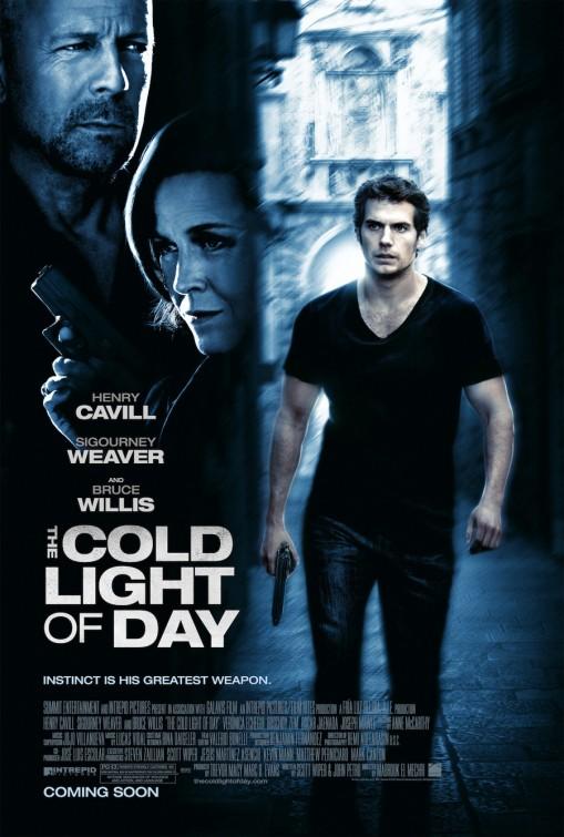 постер Средь бела дня,The Cold Light of Day