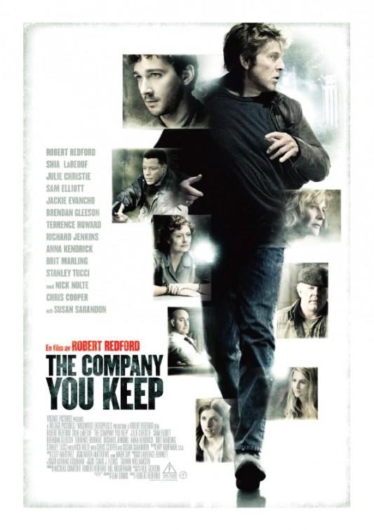 постер Грязные игры,The Company You Keep