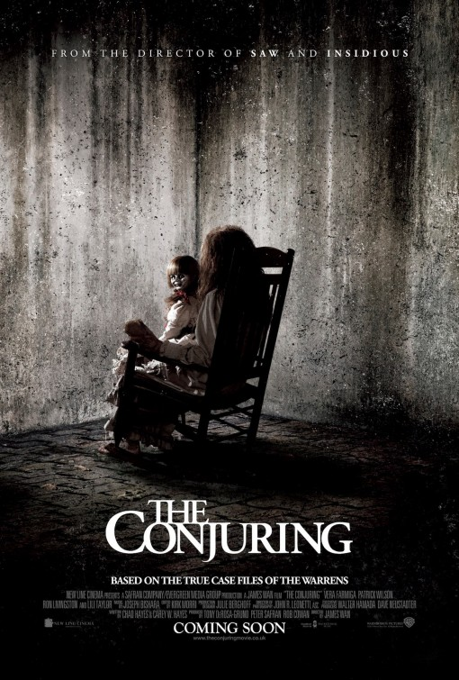 постер Заклятье,The Conjuring