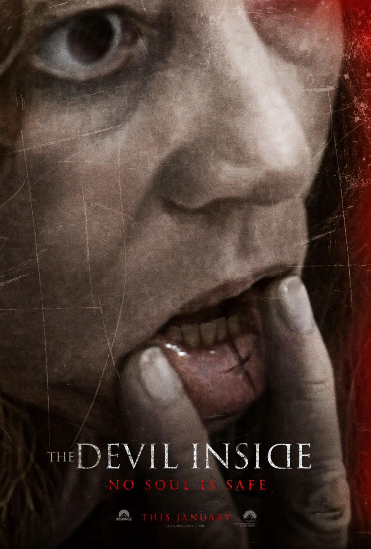 постер Одержимая,The Devil Inside