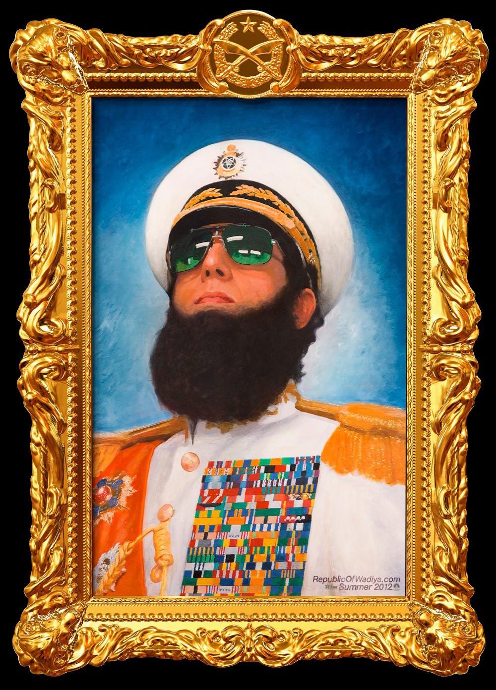 постер Диктатор,The Dictator