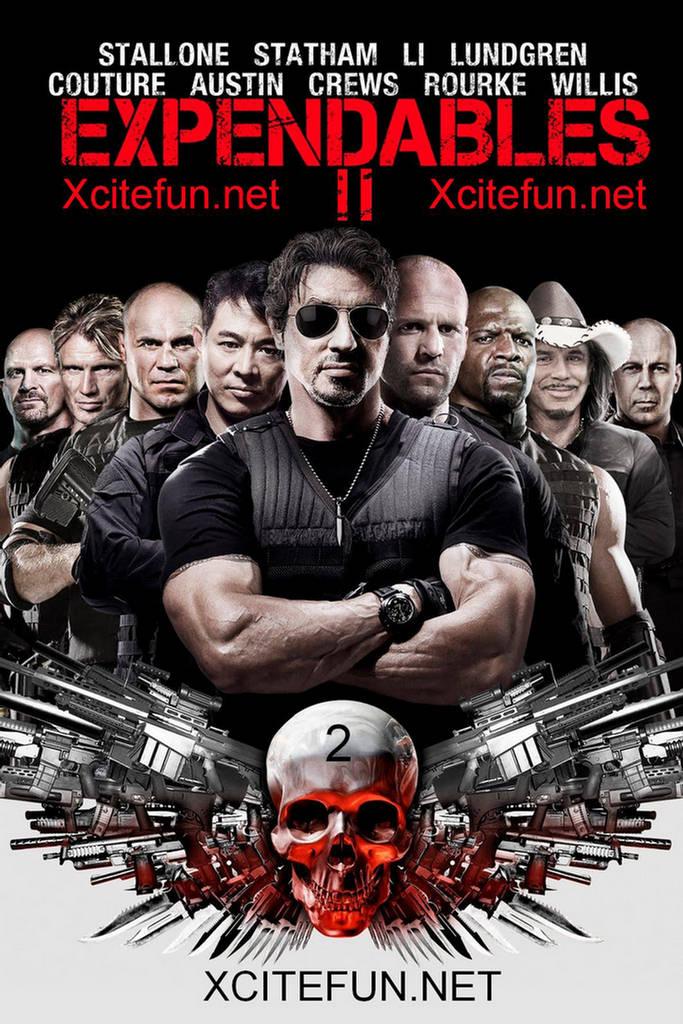 постер Неудержимые 2,The Expendables 2