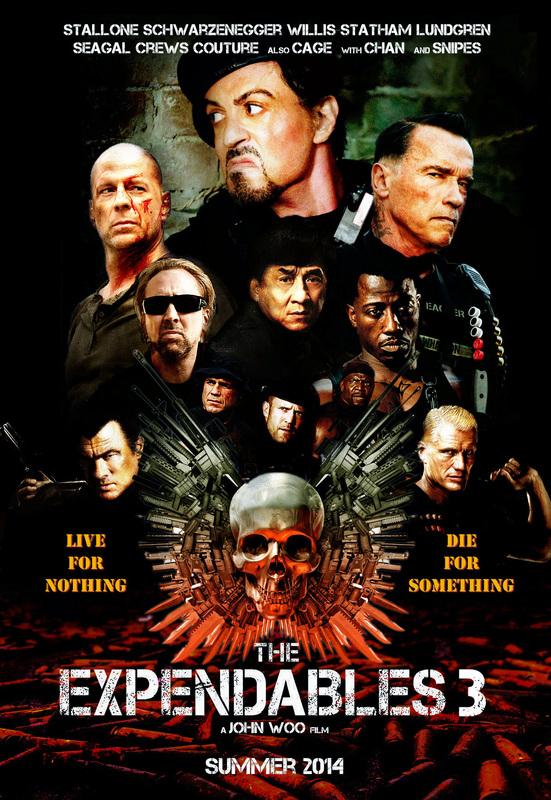 постер Неудержимые 3,The Expendables 3