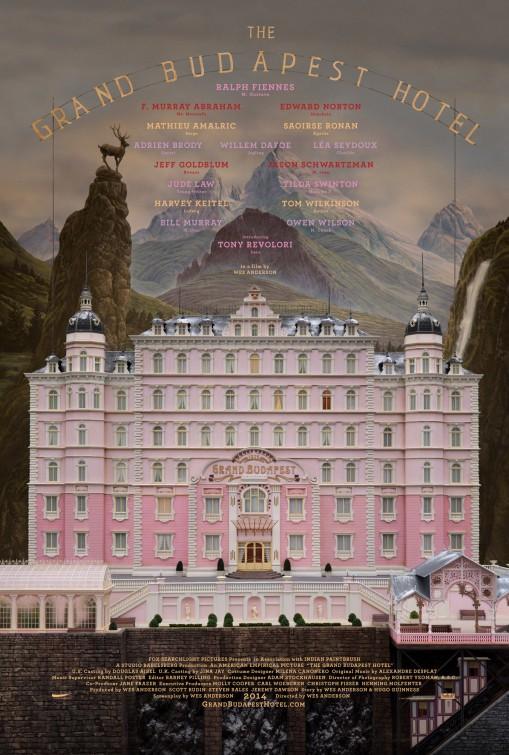 постер Отель «Гранд Будапешт»,The Grand Budapest Hotel