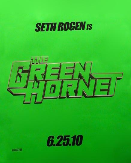 постер Зеленый Шершень, The Green Hornet