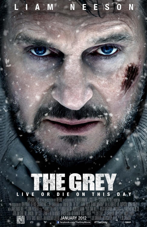 постер Схватка,The Grey