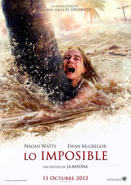 постер Невозможное,The Impossible