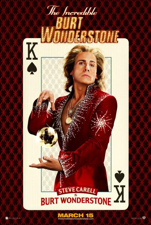 постер Невероятный Бёрт Уандерстоун,The Incredible Burt Wonderstone