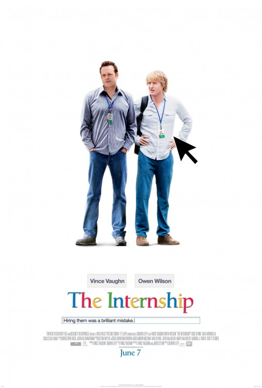 постер Кадры,The Internship