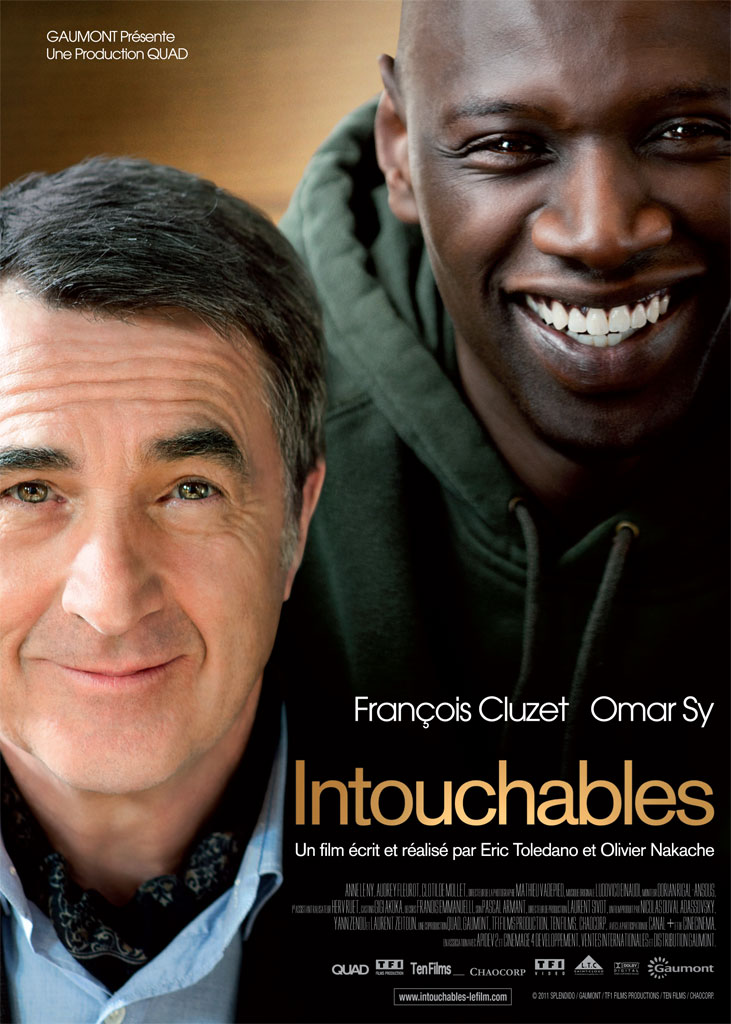постер 1+1,The Intouchables