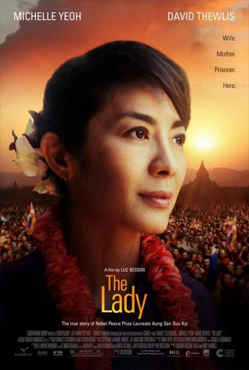 постер Леди,The Lady