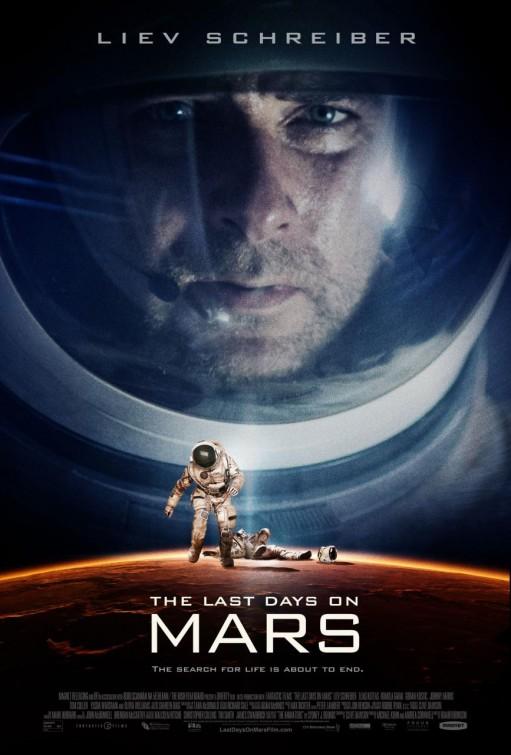 постер Последние дни на Марсе,The Last Days on Mars