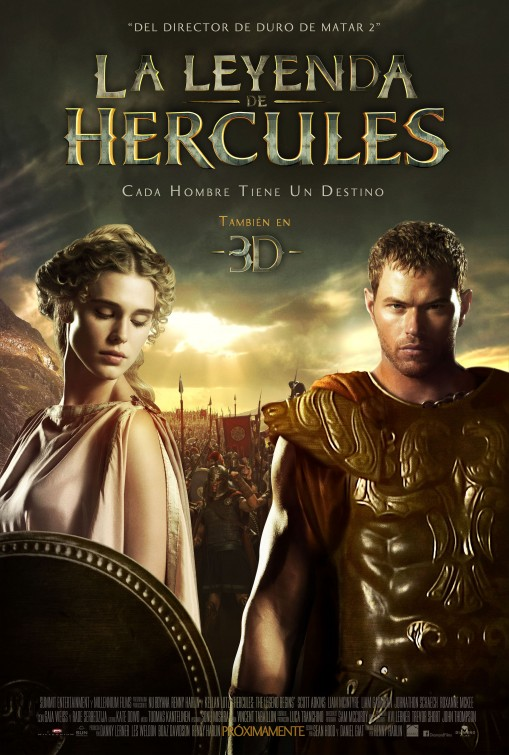 постер Геракл: Начало легенды,The Legend of Hercules