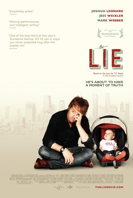 постер Ложь,The Lie