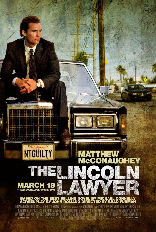постер Линкольн для адвоката,The Lincoln Lawyer