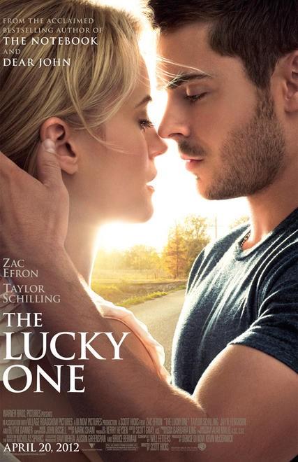 постер Счастливчик,The Lucky One