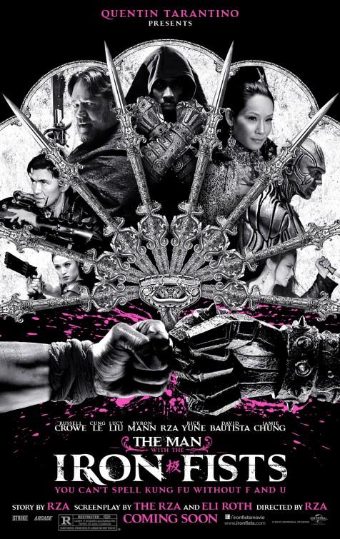 постер Человек с железными кулаками,The Man with the Iron Fists