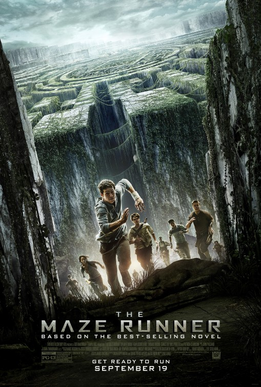 постер Бегущий в лабиринте,The Maze Runner