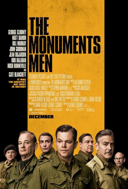 постер Хранители наследия,The Monuments Men