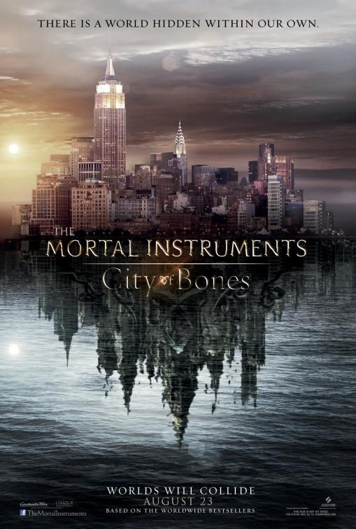 постер Орудия смерти: Город костей,The Mortal Instruments: City of Bones