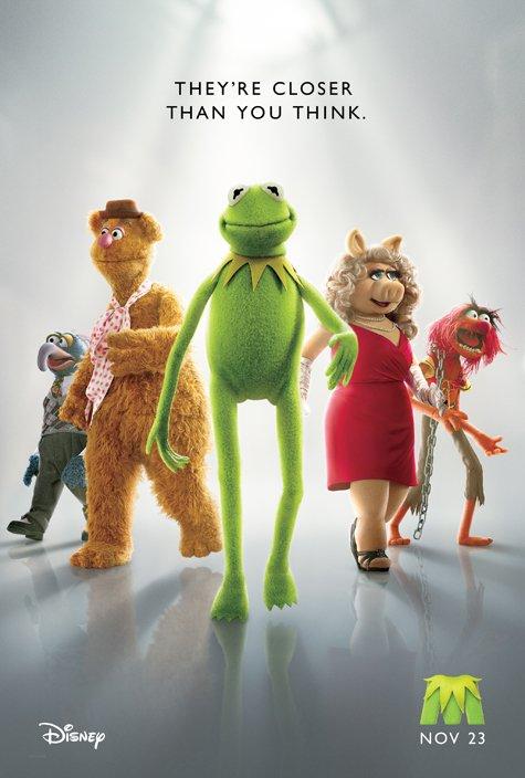 постер Маппеты,The Muppets