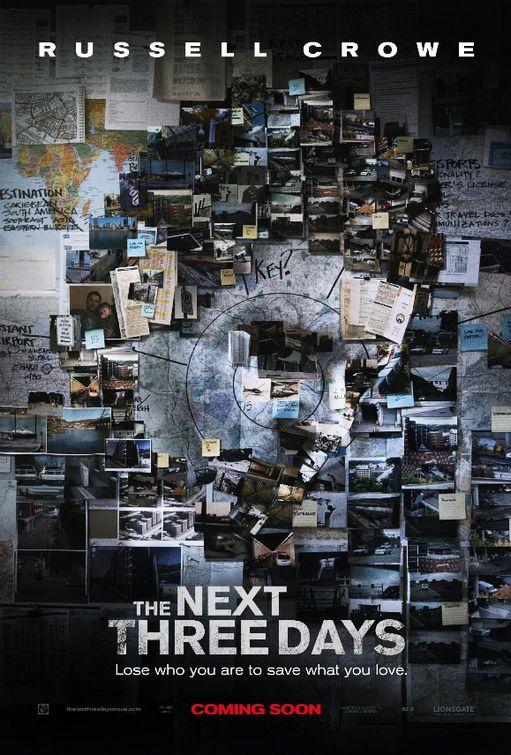 постер В ближайшие три дня,The Next Three Days