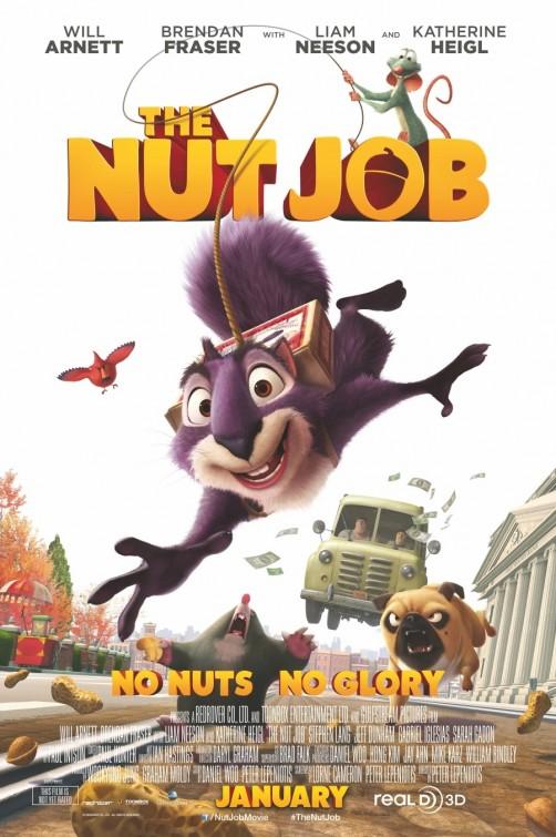 постер Реальная белка,The Nut Job