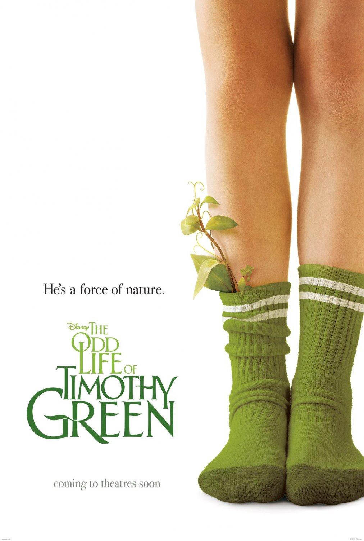 постер Странная жизнь Тимоти Грина,The Odd Life of Timothy Green