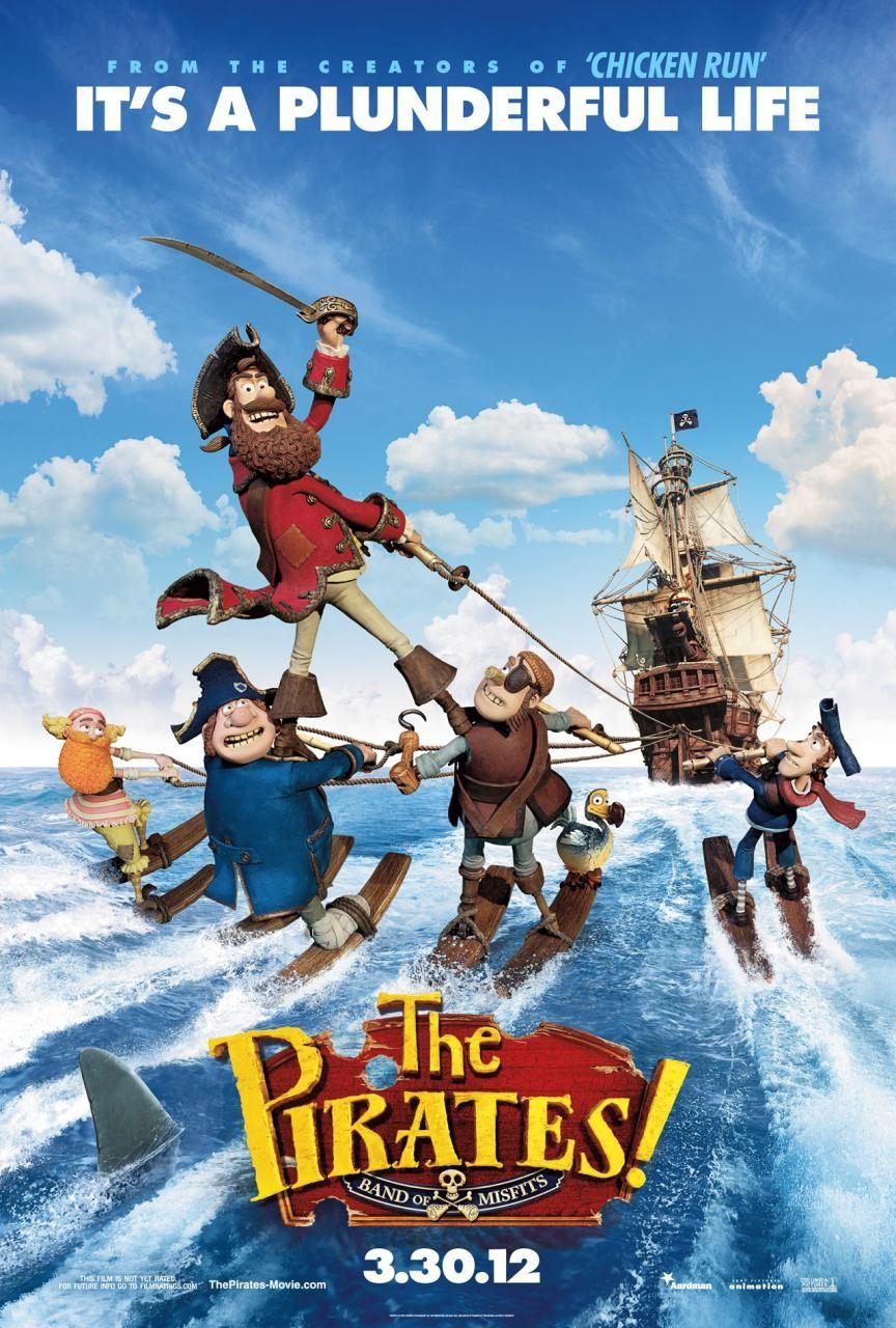 постер Пираты! Банда неудачников,The Pirates! Band of Misfits
