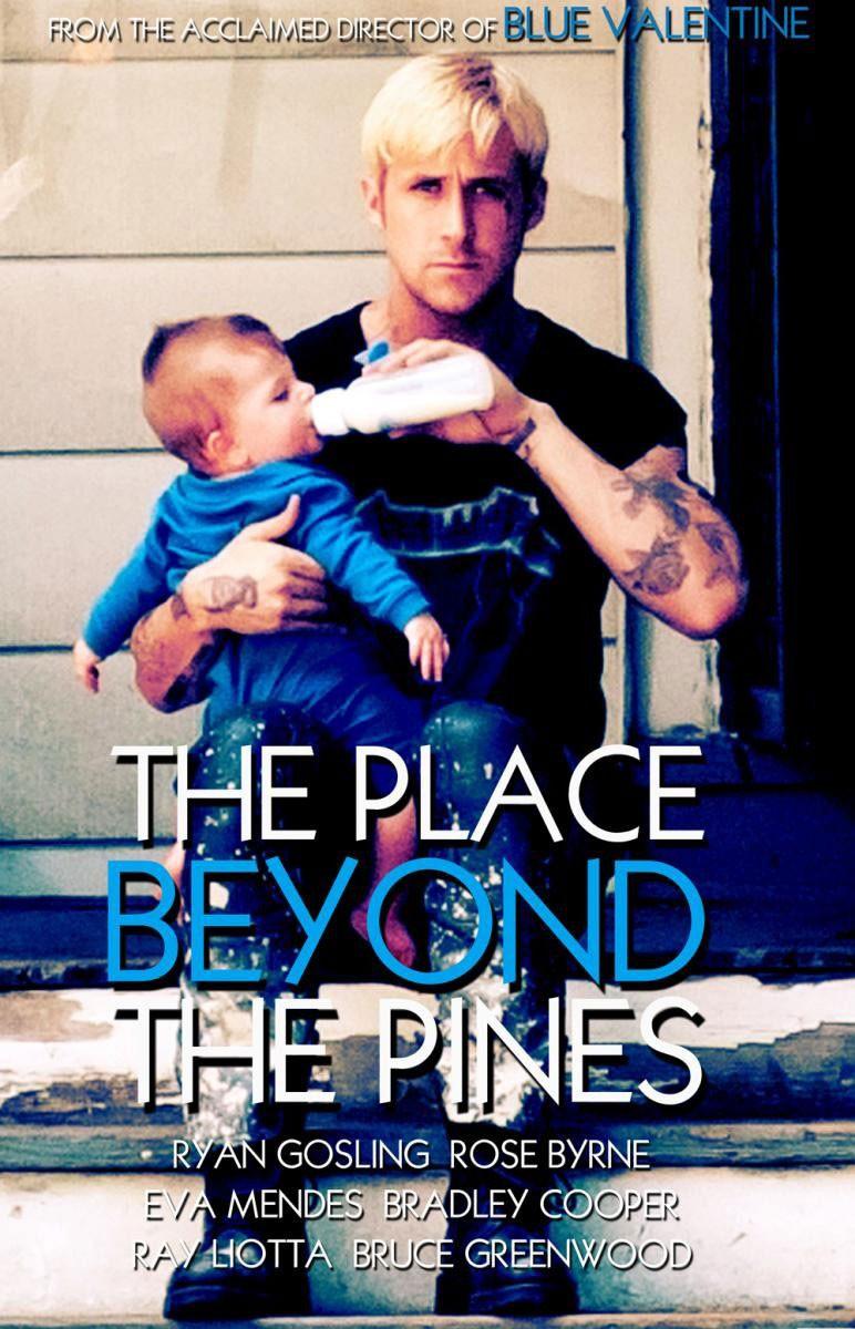 постер Место под соснами,The Place Beyond the Pines