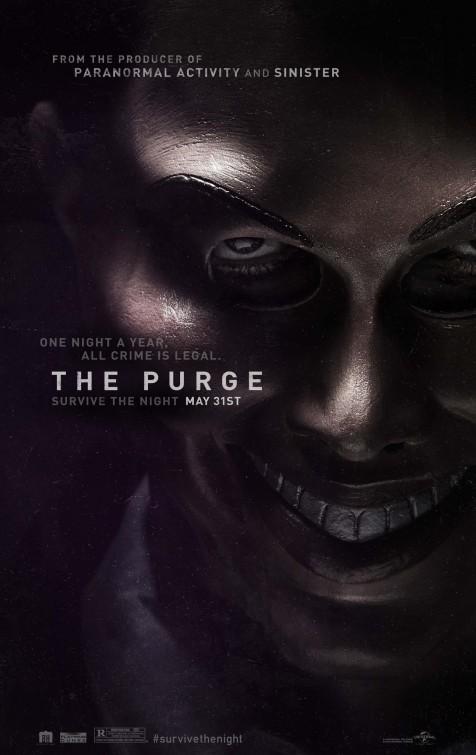 постер Чистка,The Purge