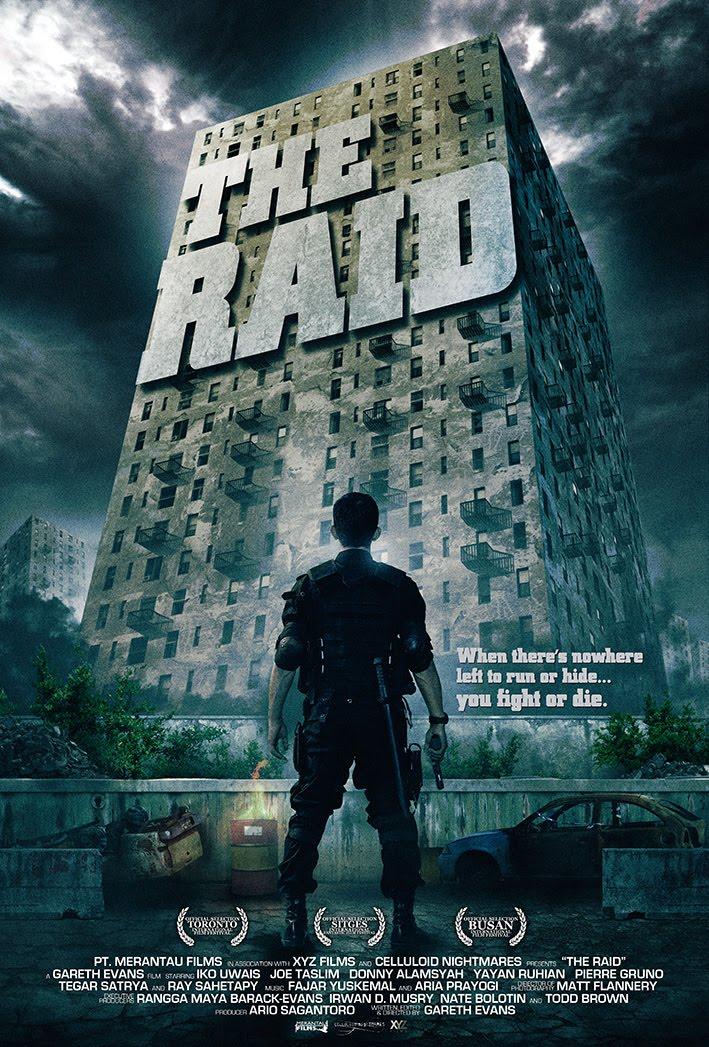 постер Рейд,The Raid