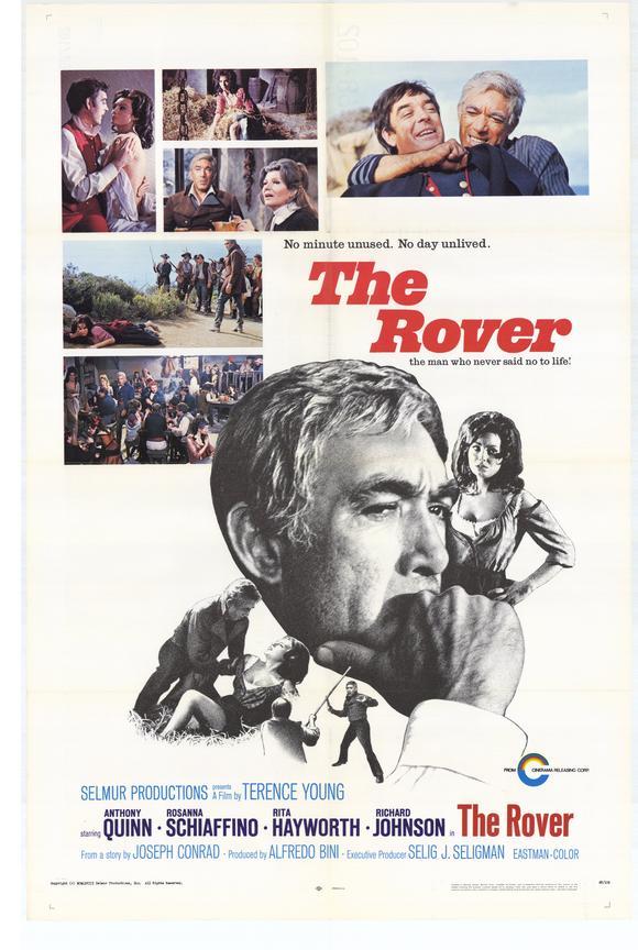 постер Ровер,The Rover