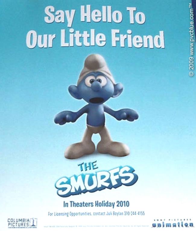 постер Смурфики, The Smurfs