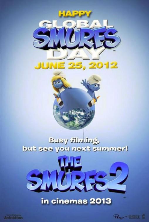 постер Смурфики 2,The Smurfs 2
