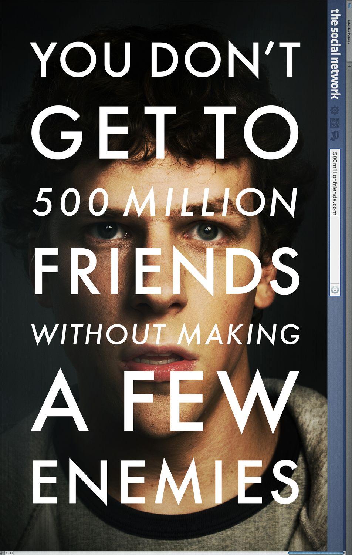 постер Социальная сеть, The Social Network
