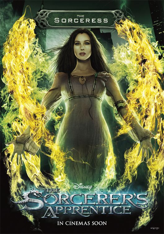 постер Ученик чародея,The Sorcerer's Apprentice