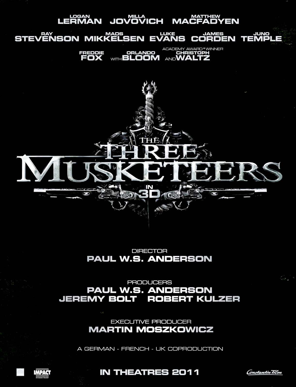постер Мушкетеры,The Three Musketeers