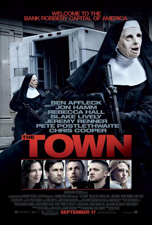 постер Город воров,The Town