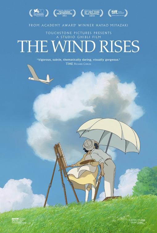 постер Ветер крепчает,The Wind Rises
