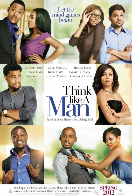 постер Думай, как мужчина,Think Like a Man