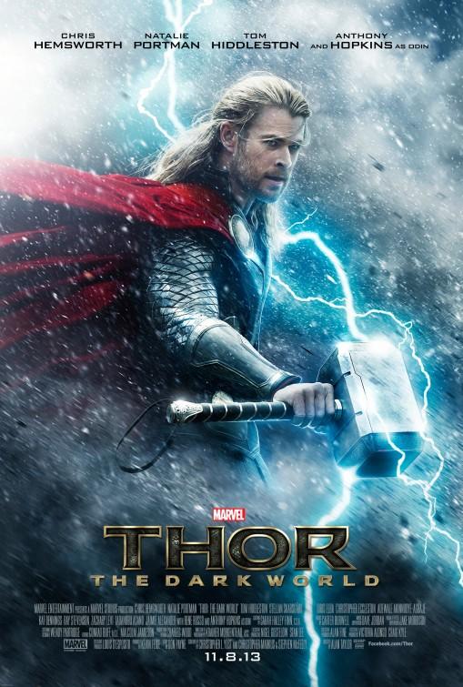 постер Тор: Царство тьмы,Thor: The Dark World