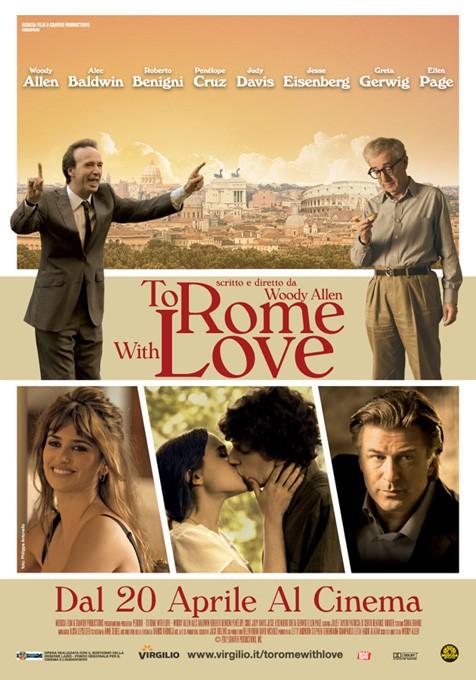 постер Римские каникулы,To Rome With Love