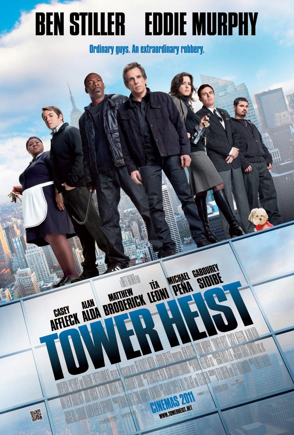 постер Как украсть небоскреб,Tower Heist